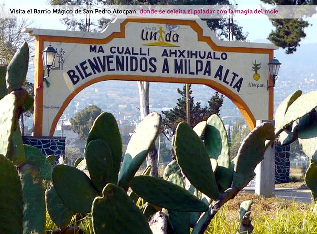 San Pedro Atocpan, Barrio Mágico Turístico1