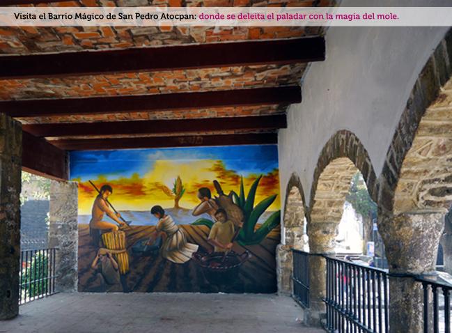 San Pedro Atocpan, Barrio Mágico Turístico4