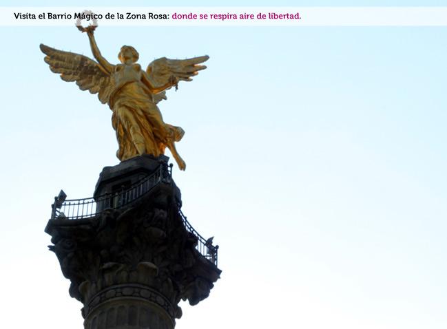 Zona Rosa Barrio mágico